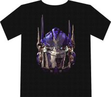 Optimus Prime Shirt Design by dylanliwanag