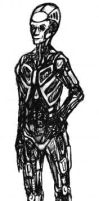 Mechanical Person by DonyaQuick