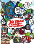 Thomas the Tank Engine 30th by SonicClone