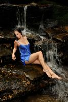 Stacey - wet blue 2 by wildplaces