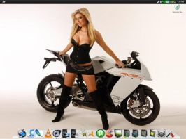 Hot Blonde Windows Xp Screenie by kmax83