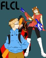 FLCL for David complete by LilTeri