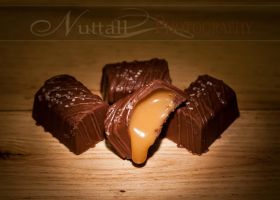 Salted caramel apple truffle by trufflesbyj