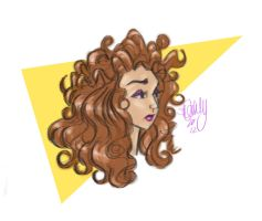 Curly Gurly by sawebee