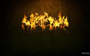 Vicious - Flames by StayYoungDesign