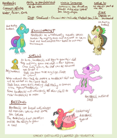 Hardbacks Reference Sheet [FLORA] by Torotix
