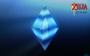ALTTP 20 Years: Crystal Zelda Wallpaper by BLUEamnesiac