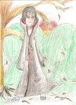 Itachi in the autumn by itachihyuuga123