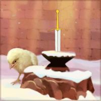 The Chicken in the Stone by Carlotta4th