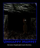 Unhappy Muppet by Eco-Cate