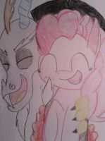 Dissy and Pinkie o3o by kittyGLaD