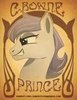 Crowne Prince art Nouveau by Samoht-Lion