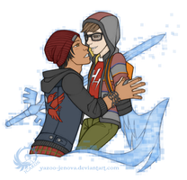 Delsin Rowe x Eugene Sims - Connection by Icarus-Skollsun
