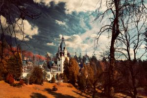 The Autumn Castle by PortraitOfaLife