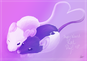 World Rat Day 2013 by Jindovi
