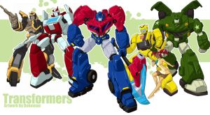 Transformers Animated by bokuman