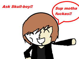 Ask Skull-boy!! XD by Saviour-Of-The-Fate