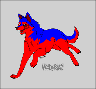 free lineart medosai by wild-horse