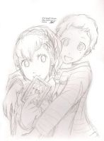 P3P Heroine and Pharos sketch by ShiSeptiana