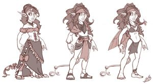 Clothing concepting by Resident-Jade