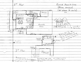 Kurosaki House Floor Plans by Daricio