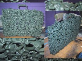 Army Men Briefcase by hobbezdagreat
