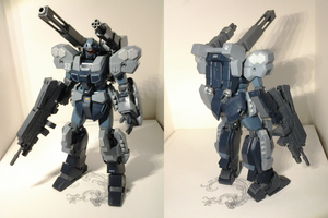 HGUC 1/144 Jesta Cannon by PhantasmaStriker