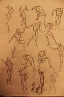 Life Drawing 2min by marvelmania