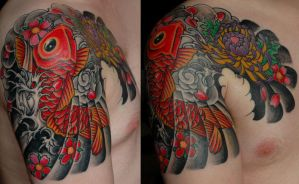Japanese Tattoo - Fishy by Perpetuum-Mobile