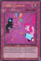 MLP Trap Card: Party Cannon by PopPixieRex