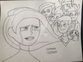 Kim possible I wanted a emotional feel here  by artdemaurialashawn21