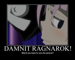 Crona: Damnit Ragnarok by CronaMotivation