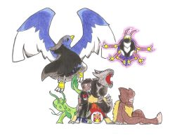 My Fakemon Team by WesleyFKMN