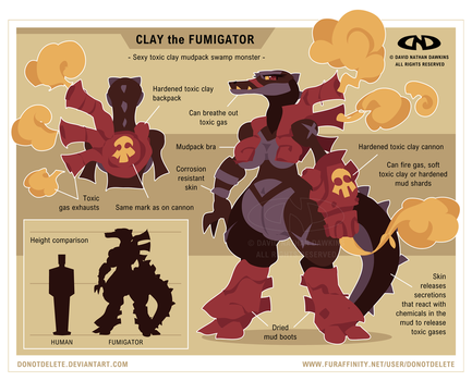 Clay the Fumigator by DoNotDelete