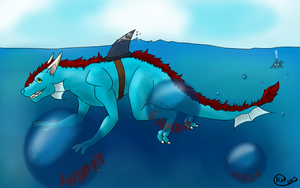 Happy Shark Week! by Kalithe