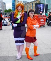 Daphne and Velma from Scooby Doo by ZeroKing2015