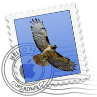 Mac Mail Icon for Dock by vistaskinner99