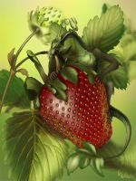The Strawberry Thief by AnasteziA