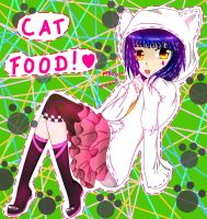 OC Vocaloid: E Cat food by aerith31