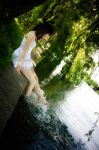 Under the weeping willows III by Dina-bv