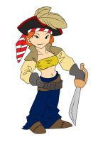 006 - Old - Pirate Girl by Athey