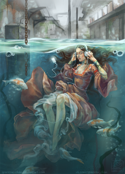 Ophelia by sparrow-chan