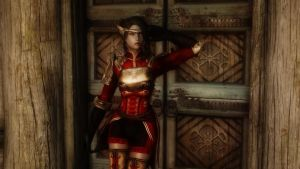 Skyrim: Lyna III by haunted-passion
