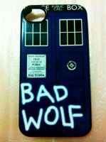 BAD WOLF iPhone by vanessaisha
