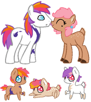 Flameshug DTA foals [closed] by unicorngirl1