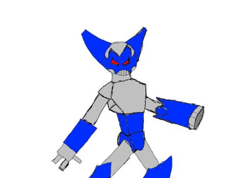 Super activate Robot Boy by Eack1960