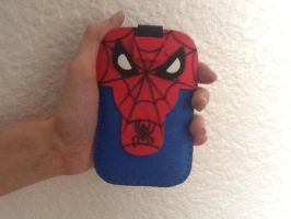 Spiderman Mobile Case by anapeig