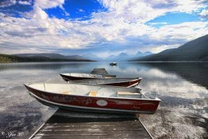 lake mcdonald by Yair-Leibovich