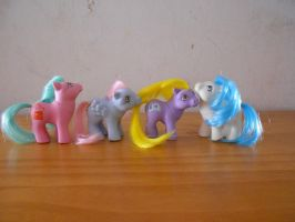 my little pony collection: playschool baby ponies by theladyinred002