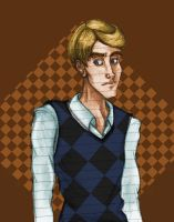 Young Leonard Flatt by catgirl123